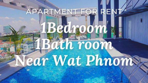■Location: Wat Phnom / Phnom Penh / Cambodia ■Rent Price: $650