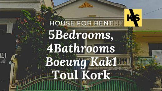 Toul Kork house for rent