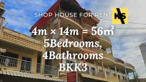 Shop house for rent BKK3