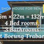 Shop house for rent boeung trabaek