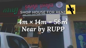 shop house for rent RUPP