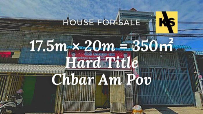 house for sale in chbar an pov