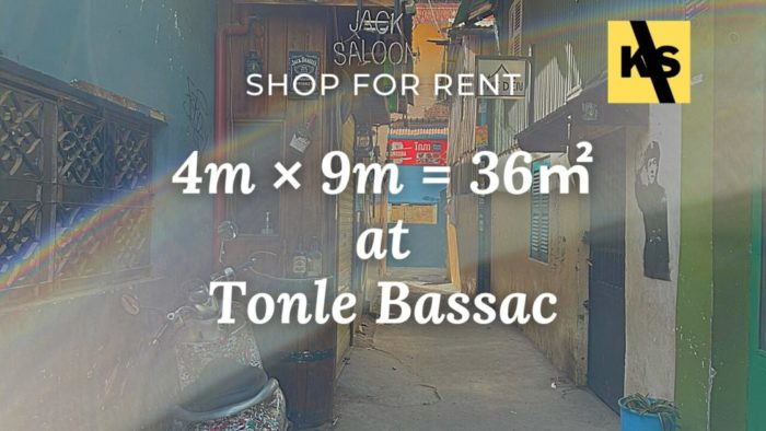 shop for rent tonle bassac
