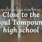 shop for rent at TTP