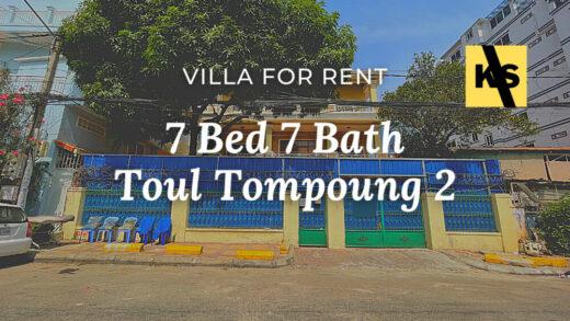 Villa for rent at Phnom Penh