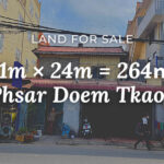 Land for sale at Phnom Penh