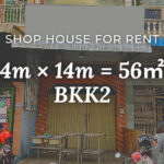 shop house for rent at BKK2