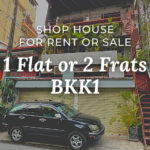 shop house for rent bkk1
