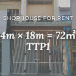 Shophouse for rent at TTP1