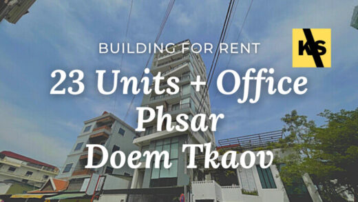 Building for rent at Phnom Penh