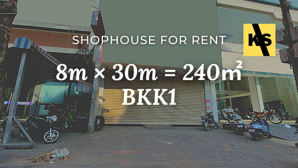Shophouse 8×30m / Rent / BKK1, Phnom Penh › KeepScope