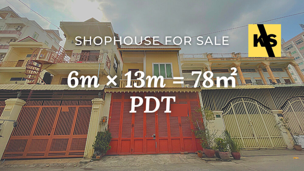 Shophouse 5×12m / Sale / PDT, Phnom Penh › KeepScope