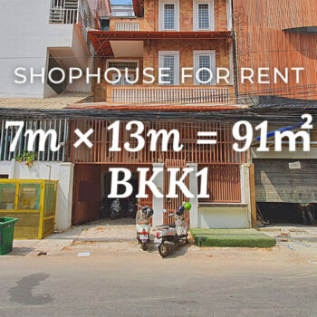 Shophouse 7×13m / Rent / BKK1, Phnom Penh › KeepScope