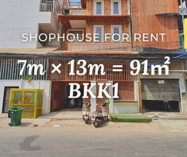 Shophouse 7×13m / Rent / BKK1, Phnom Penh › KeepScope