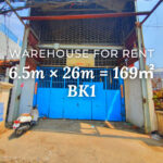 Warehouse 6.5×26m / Rent / BK1, Phnom Penh › KeepScope