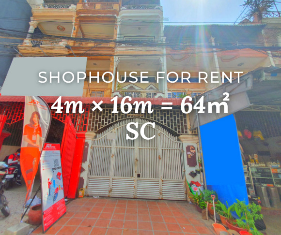 Shophouse 4×16m 6B4B / Rent / SC, Phnom Penh › KeepScope