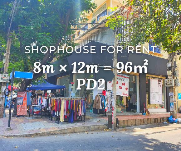 Shophouse 8×12m / Rent / PD2, Phnom Penh › KeepScope
