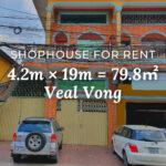Shophouse 4.2×19m / Rent / Veal Vong, Phnom Penh › KeepScope
