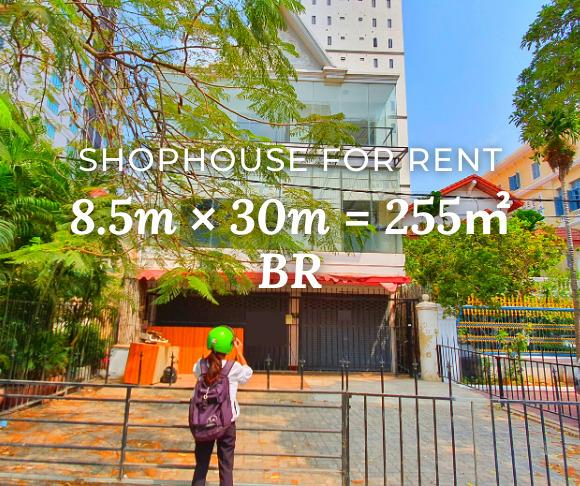 Shophouse 8.5×30m / Rent / BR, Phnom Penh › KeepScope