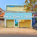 Shophouse 8×35m / Rent / BR, Phnom Penh › KeepScope