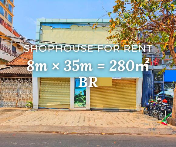 Shophouse 8×35m / Rent / BR, Phnom Penh › KeepScope