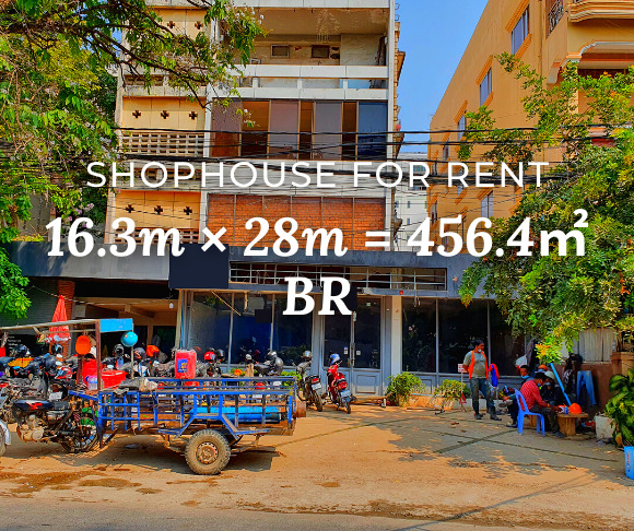 Shophouse 16.3×28m / Rent / BR, Phnom Penh › KeepScope