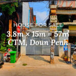 House 3.8×15 / Sale / CTM, Phnom Penh › KeepScope