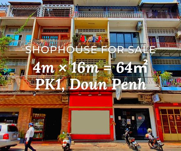 Shophouse 4×16 / Sale / PK1, Phnom Penh › KeepScope