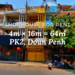 Shophouse 4×16m / Rent / PK2, Phnom Penh › KeepScope