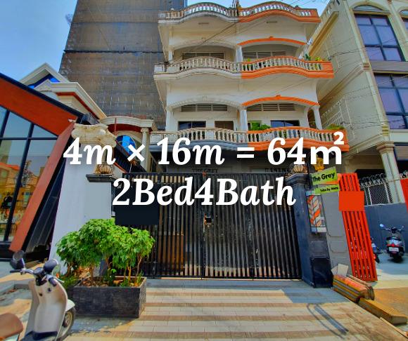 """ផ្ទះរកសុី សំរាប់ជួល បឹងកេងកង ១ / Shophouse """"RENT"""" BKK1, Phnom Penh › KeepScope"""