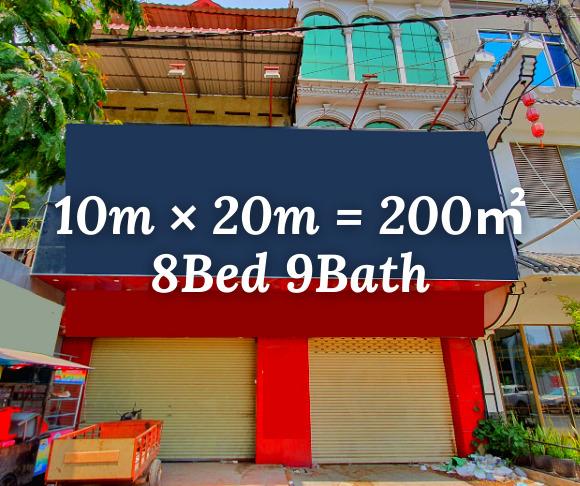 """ផ្ទះរកសុី សំរាប់ជួល បឹងកេងកង ៣ / Shophouse """"RENT"""" BKK3, Phnom Penh › KeepScope"""