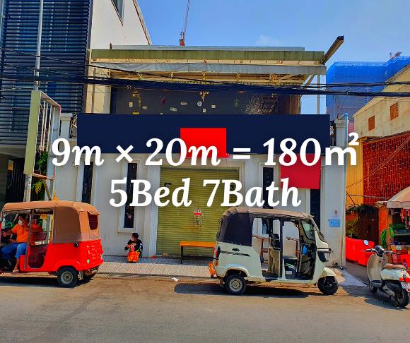 """ផ្ទះរកសុី សំរាប់ជួល បឹងកេងកង ១ / Shophouse """"RENT"""" BKK3, Phnom Penh › KeepScope"""
