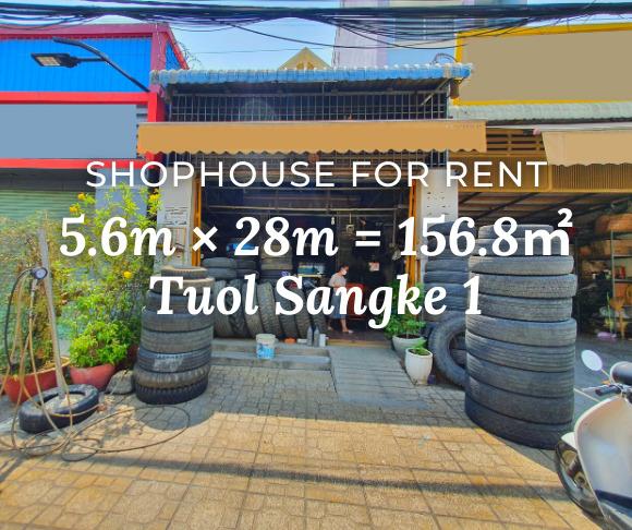 Shophouse 5.6×28m / Rent / Tuol Sangke1, Phnom Penh › KeepScope