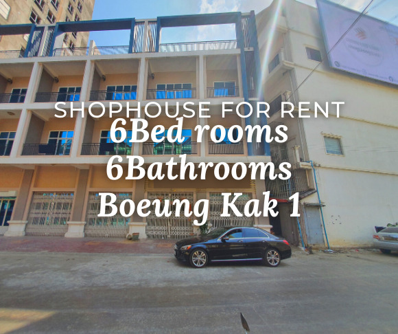 Shophouse 2Flats 6B6B / Rent / BK1, Phnom Penh › KeepScope