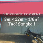 Shophouse 8×22m / Rent / Tuol Sangke1, Phnom Penh › KeepScope