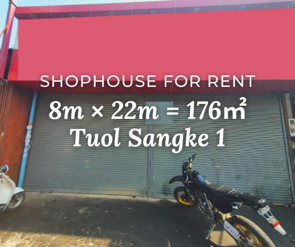 Shophouse 8×22m / Rent / Tuol Sangke1, Phnom Penh › KeepScope