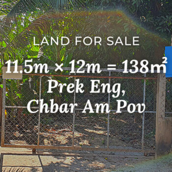 Land 11.5×12 / Sale / Prek Eng, Phnom Penh › KeepScope