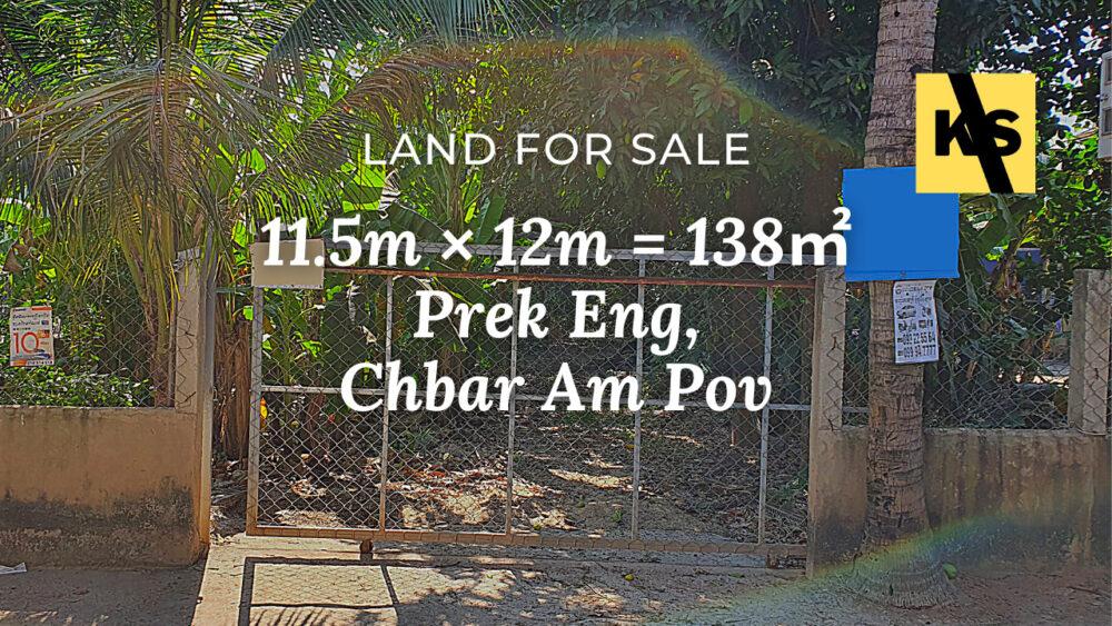 Land 11.5×12 / Sale / Prek Eng, Phnom Penh › KeepScope