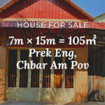 House 7×15 / Sale / Prek Eng, Phnom Penh › KeepScope