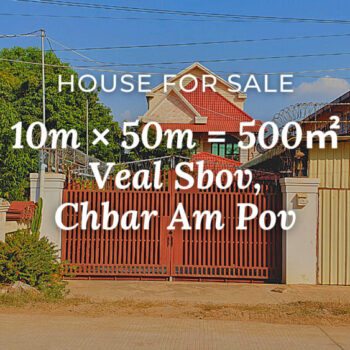 House 10×50 / Sale / Veal Sbov, Phnom Penh › KeepScope