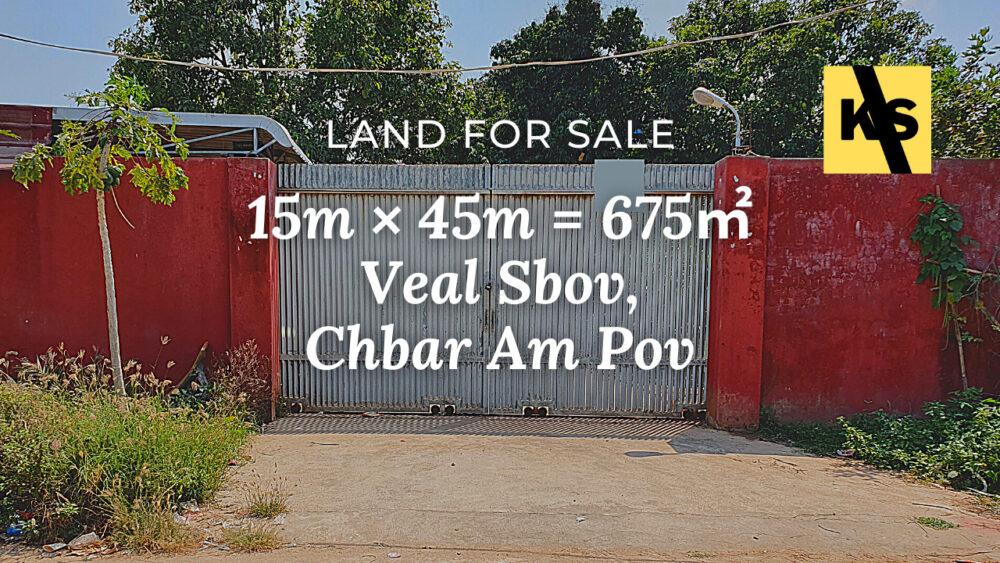 Land 15×45 / Sale / Veal Sbov, Phnom Penh › KeepScope