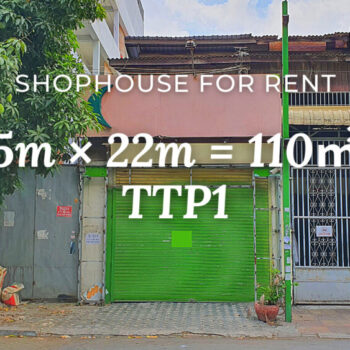 Shophouse 4×22m / Rent / TTP1, Phnom Penh › KeepScope