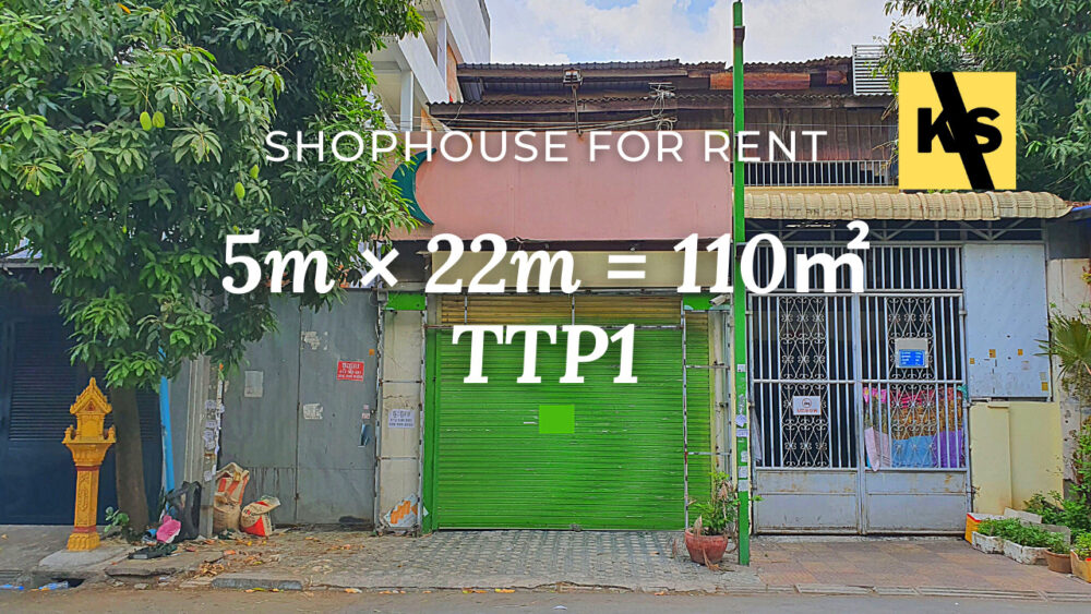 Shophouse 4×22m / Rent / TTP1, Phnom Penh › KeepScope